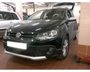 Установка датчиков парковки Park Master DJ32 на автомобиль volkswagen Cross Polo 2012